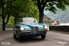Impecable el Alfa Romeo 1900 SS La Feche de 1955 presentado por Corrado Lopresto.