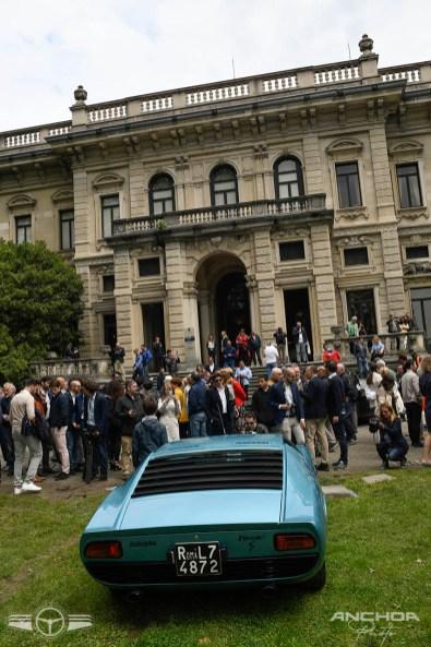 Los Lamborghini Miura siempre acaparan muchas miradas.