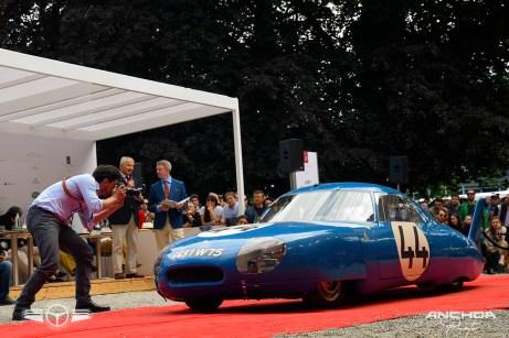 Un raro ejemplar, el CD Panhard aerodinámico preparado para Le Mans en 1964