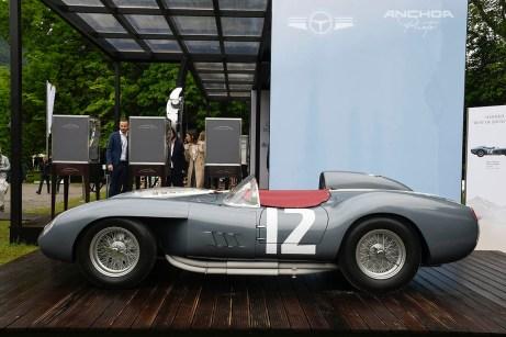 El ganador en Villa d´Este el año pasado, Ferrari 335 Sport Spider de 1958.