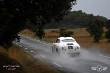 En esta imagen se aprecia el techo doble burbuja típico de Zagato del Alfa Giulietta SVZ