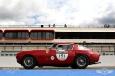 El Ferrari 250 MM de 1953 en la parrilla de salida
