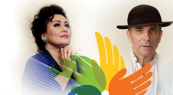 """""""Suflet în culori"""", cu Leontina Văduva și Grigore Leșe"""