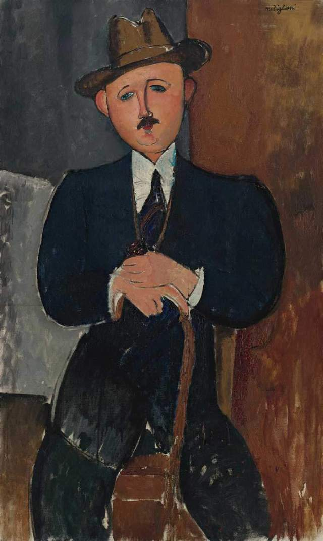 l-homme-assis-appuye-sur-une-canne-amedeo-modigliani