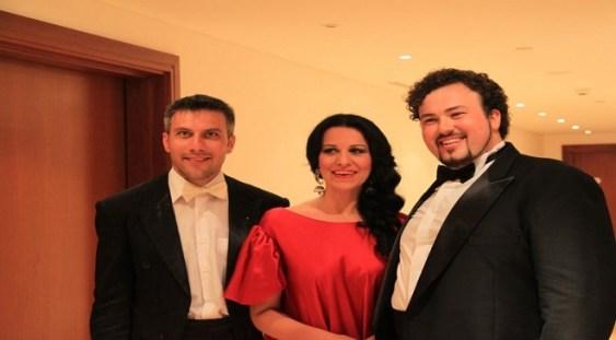 Angela Gheorghiu şi Ştefan Pop în distributia operei 'Boema'