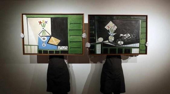 Picasso – doua tablouri intr-o zi