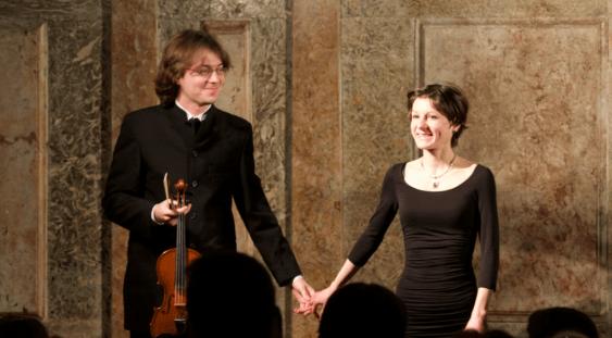 Violonistul Vlad MAISTOROVICI și pianista Diana IONESCU în concert la Torino