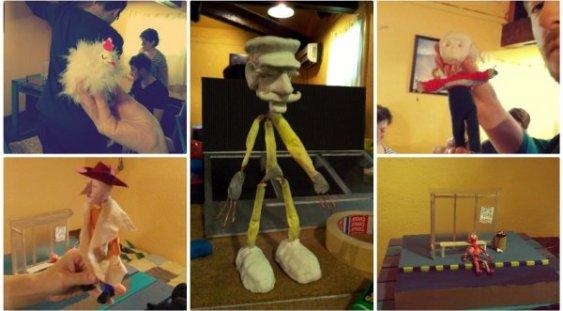 Atelier de animaţie stop motion