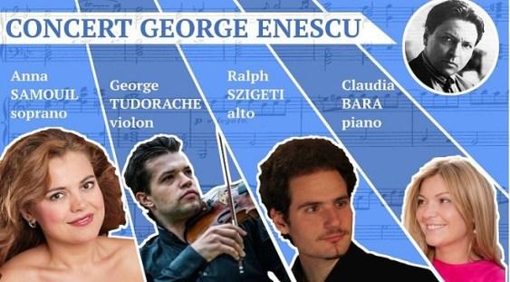Muzica lui George Enescu pe scena Filarmonicii Regale din Liege