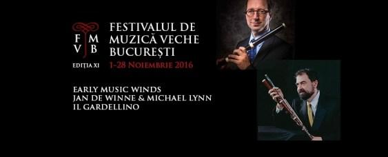 'Il Flauto Traverso' în cadrul Festivalului de Muzică Veche Bucureşti