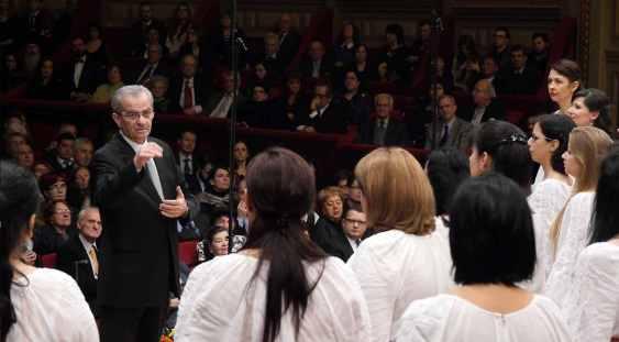 Corul de Cameră Preludiu a împlinit 45 de ani de la înfiinţare