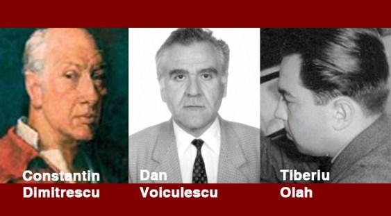 Mari compozitori români: Dimitrescu, Voiculescu, Olah