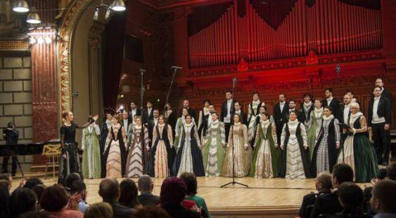 """Corul """"Madrigal-Marin Constantin"""" – concert în premieră la Ierusalim"""