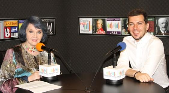 Margareta Paslaru de vorbă cu Marius Constantinescu
