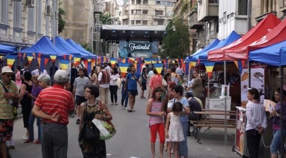 Începe Festivalul 'Strada Armenească'