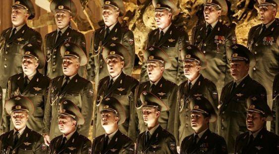 Marele Cor al Armatei Roșii, la Iași
