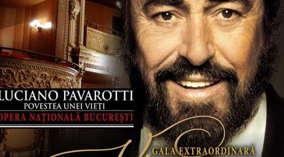 "Gala Extraordinară ""VINCERO – Luciano Pavarotti Povestea unei vieți"""