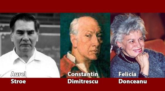 Mari compozitori români: Stroe, Donceanu, Grefiens, Dimitrescu