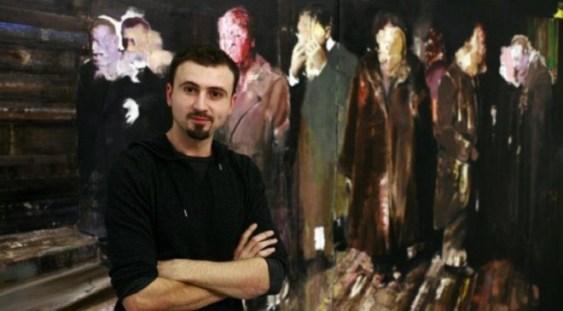 """Van Gogh"", semnat Adrian Ghenie, adjudecat contra sumei de 65.000€"