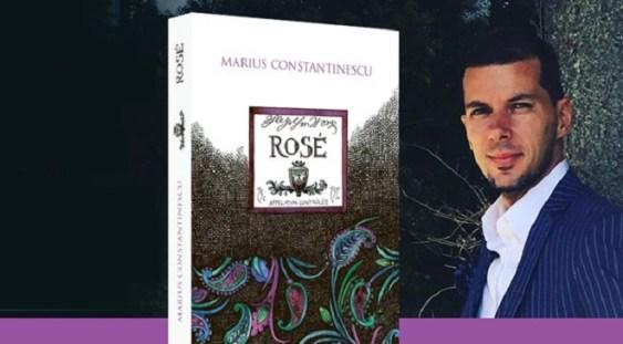 """Jurnalistul cultural Marius Constantinescu lansează volumul """"Rosé"""""""