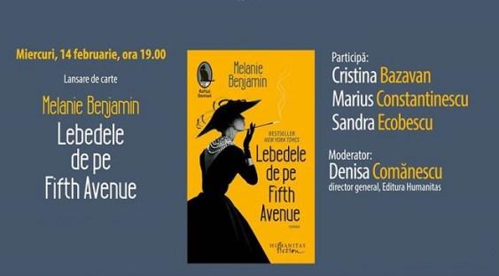 Lansarea romanului 'Lebedele de pe Fifth Avenue'