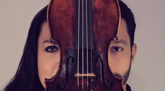 Răzvan Stoica și vioara sa Stradivarius, pe scena Sălii Radio