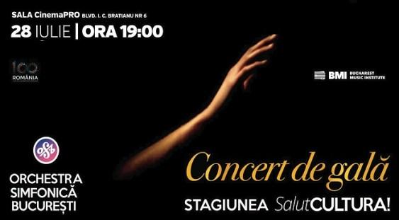 Concert de gală – Finala Concursului International de Dirijat