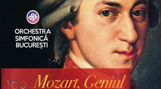 """Orchestra Simfonică București prezintă concertul """"Mozart, Geniul"""""""