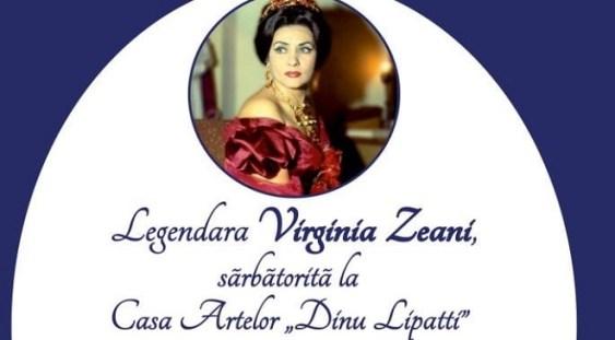 Legendara Virginia Zeani, sărbătorită la Casa Artelor