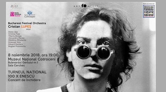 Turneul național 100 x Enescu, la final. Concertul de închidere, găzduit de Muzeul Național Cotroceni