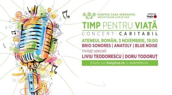 Concert caritabil la Ateneul Român