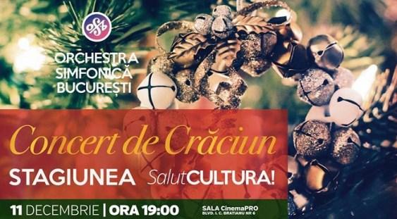 Orchestra Simfonică București pregătește în această iarnă Concertul de Crăciun