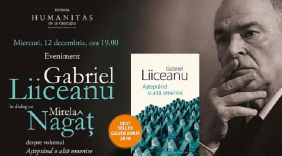 Gabriel Liiceanu în dialog cu Mirela Nagâț