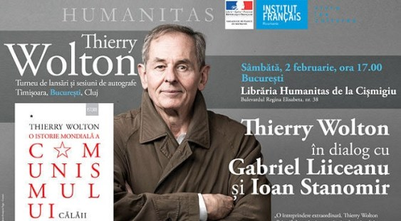 Thierry Wolton în dialog cu Gabriel Liiceanu