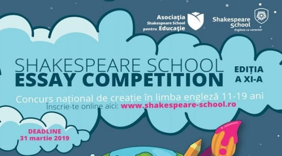 S-a dat START înscrierilor la Shakespeare School Essay Competition – ediția #11!