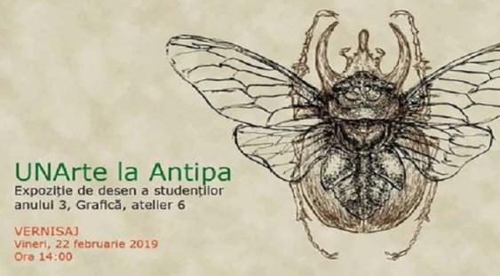 Vernisaj de grafică, la Muzeul Antipa