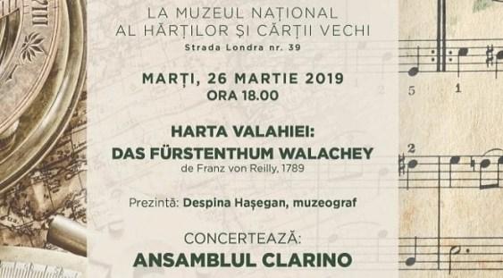 Concert în formulă de 6 clarinete în jurul Hărții Valahiei