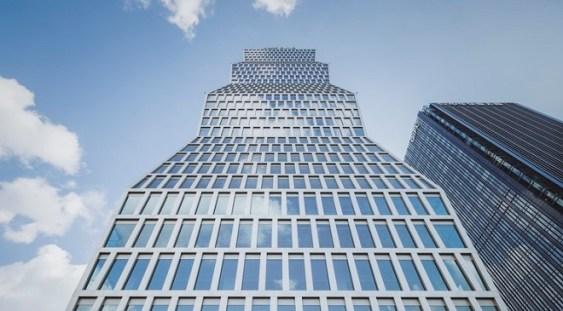 """Clădire inspirată de """"Coloana fără sfârşit"""", inaugurată la Shanghai"""