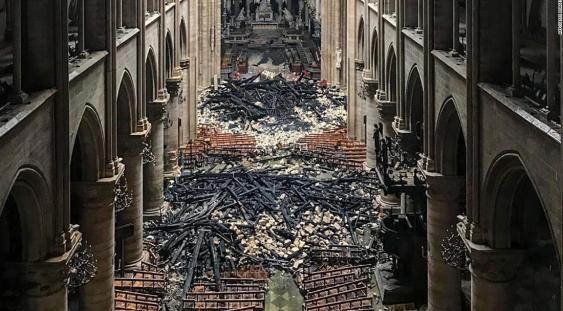 Operele de artă salvate de flăcările de la Catedrala Notre-Dame