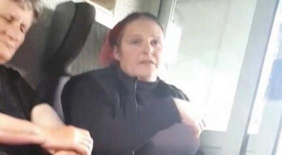 VIDEO | Lecţie oferită de o adolescentă într-un tren: a pus la punct o femeie care mânca seminţe
