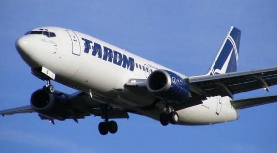Tarom reia de vineri cursele aeriene București-Roma și retur