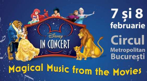 """Disney in concert – Magical music from the movies"""