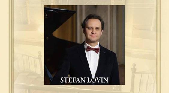 Recital de pian susţinut de Ştefan Lovin la Palatul Suţu