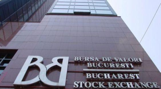 Bursa de Valori Bucureşti în scădere puternică