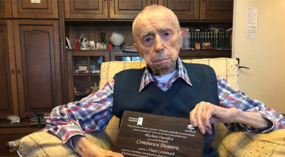 Un bucureștean a devenit cel mai vârstnic bărbat al Planetei