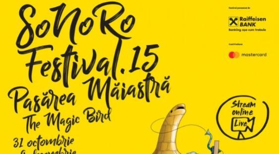 """Festivalul SoNoRo XV """"Pasărea Măiastră"""", o ediție inspirată de Constantin Brâncuși"""