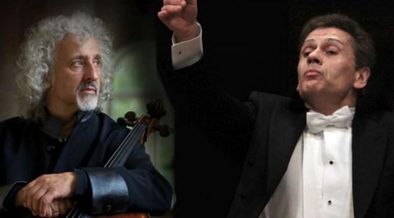 Înregistrare cu Mischa Maisky și Christian Badea în programul Filarmonicii bucureștene