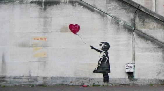 Banksy, în licitație la București