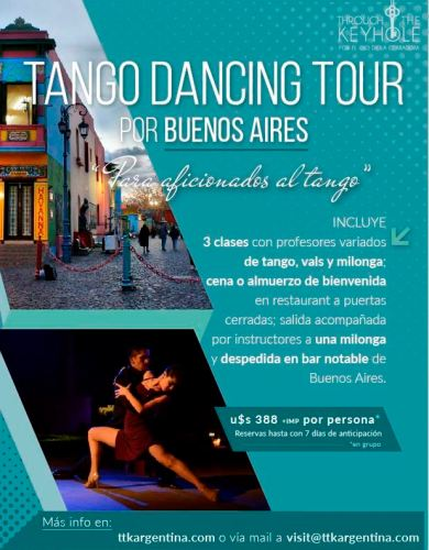 TANGO DANCING TOUR