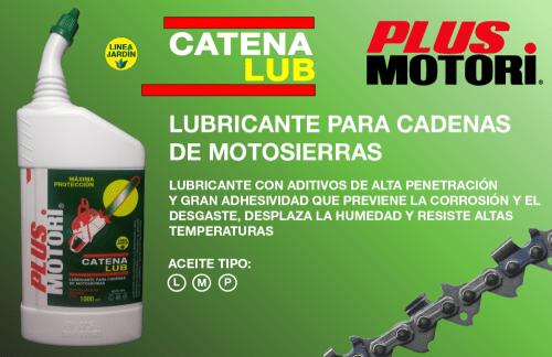 Aditivo Catena Lub lubricante cadena motosierra Plus Motori